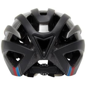 Alpina Campiglio Helmet black-dark silver-blue-red